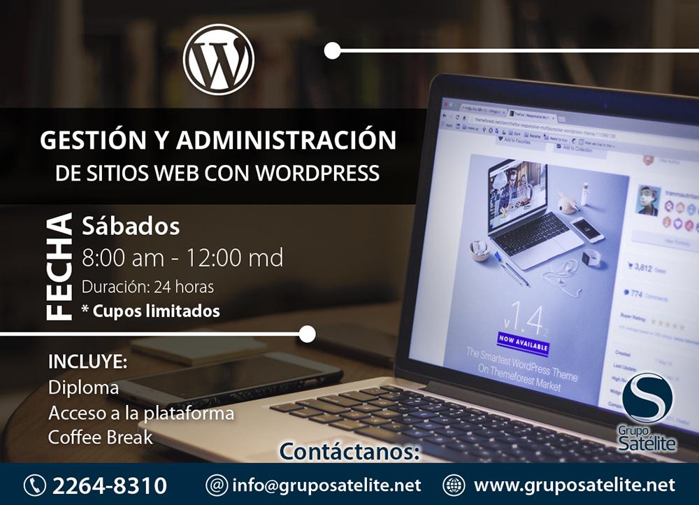 GESTION Y ADMINISTRACION DE SITIOS WEB
